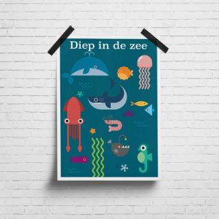 Poster Diep in de Zee
